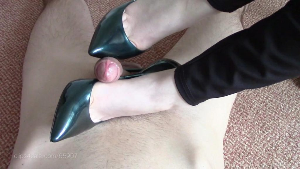 Casadei Stiletto Shoejob – Shiny Shoejobs