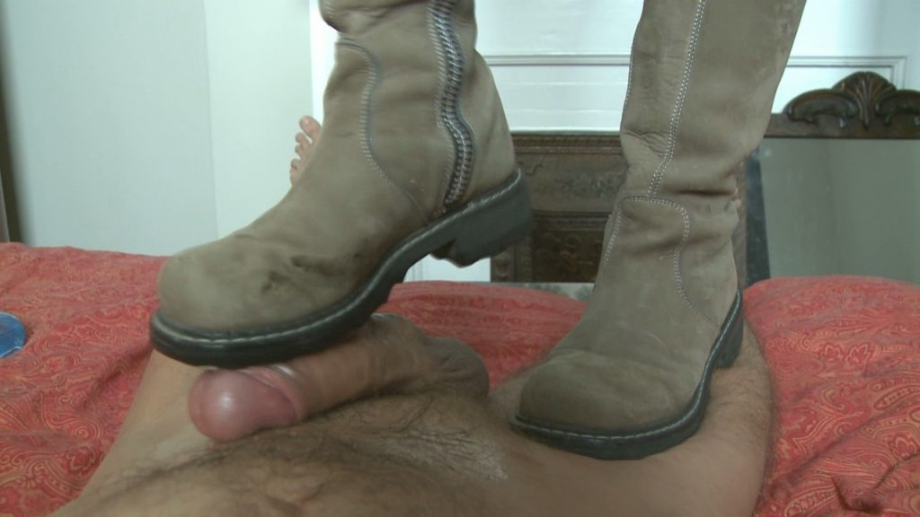 Bootjob With Old Dirty Boots -Mistress T