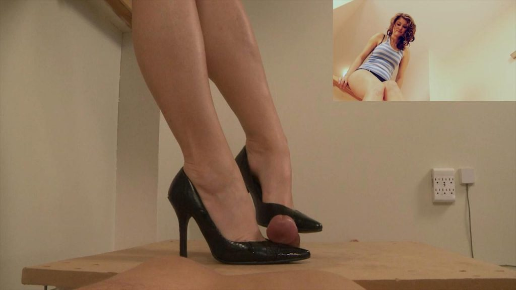 Ariel's Black Heels Make You Cum – Paraphilia51