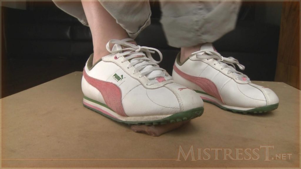 Cum Under Rough Soled Sneakers – Mistress T
