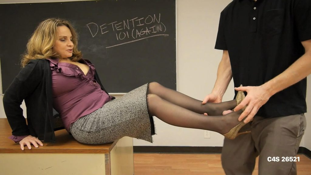 Mrs.Bardoux's Motivational Shoe Job/FJ  – Perversion Productions