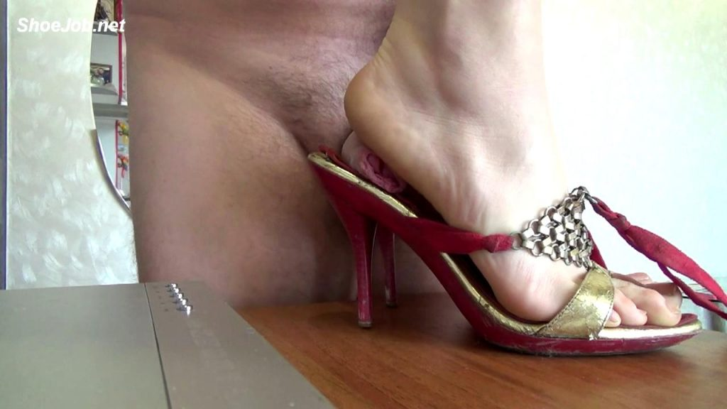 Stomp Dick Under Both Feet In Sandals – Natali's Burning Passionate Panther