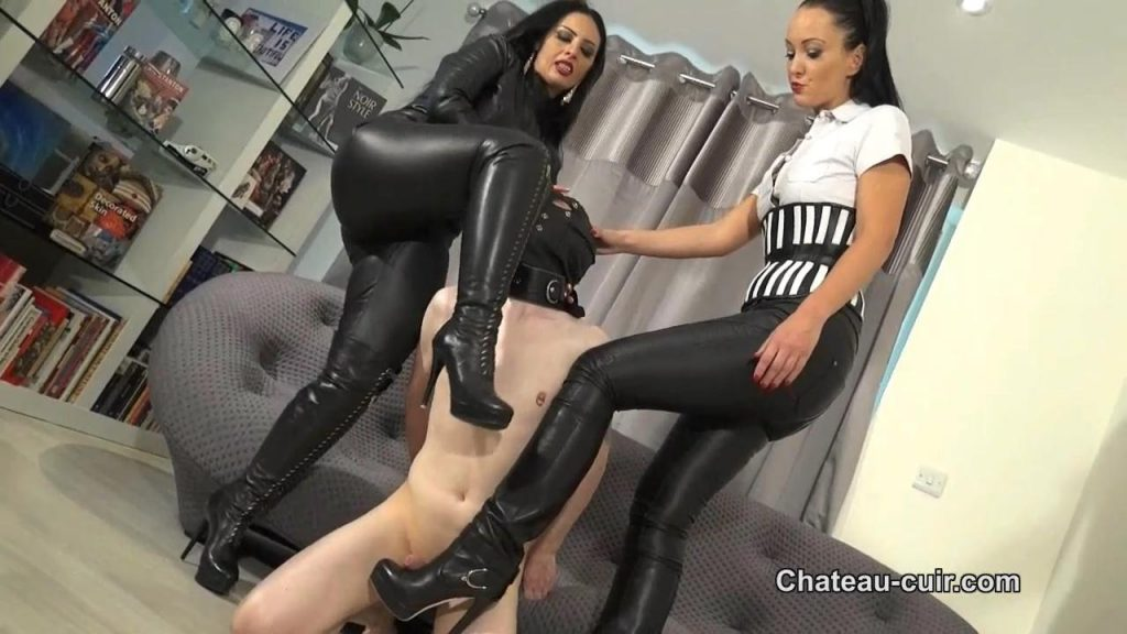 The Leather Bootfucker Part 1 – Chateau-Cuir