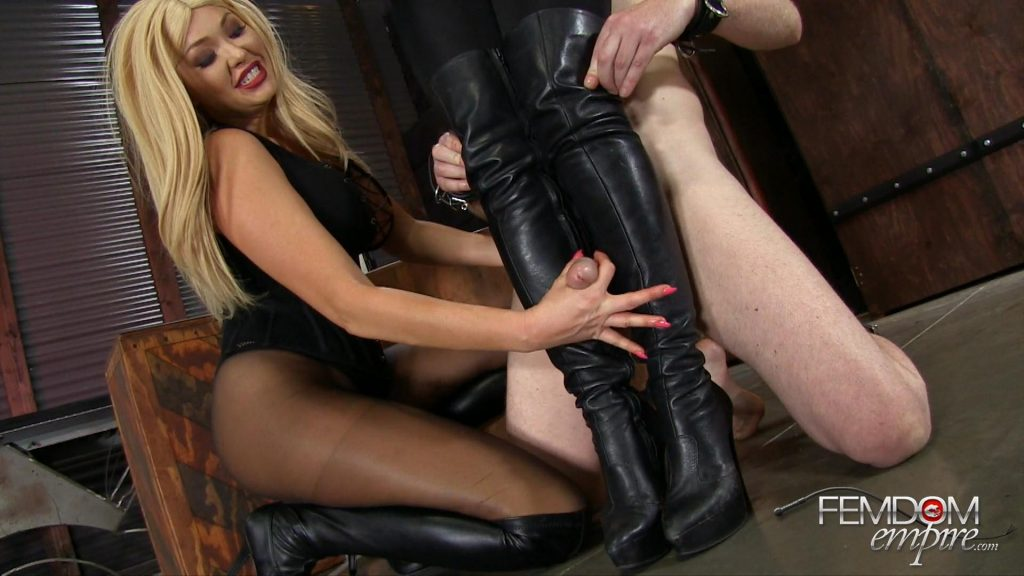 Brielle-Filthy Boot Fucker – Vicious Femdom Empire