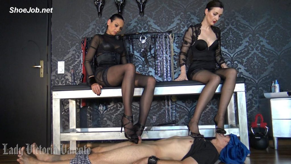 Double domination with Madame Catarina – German Femdom