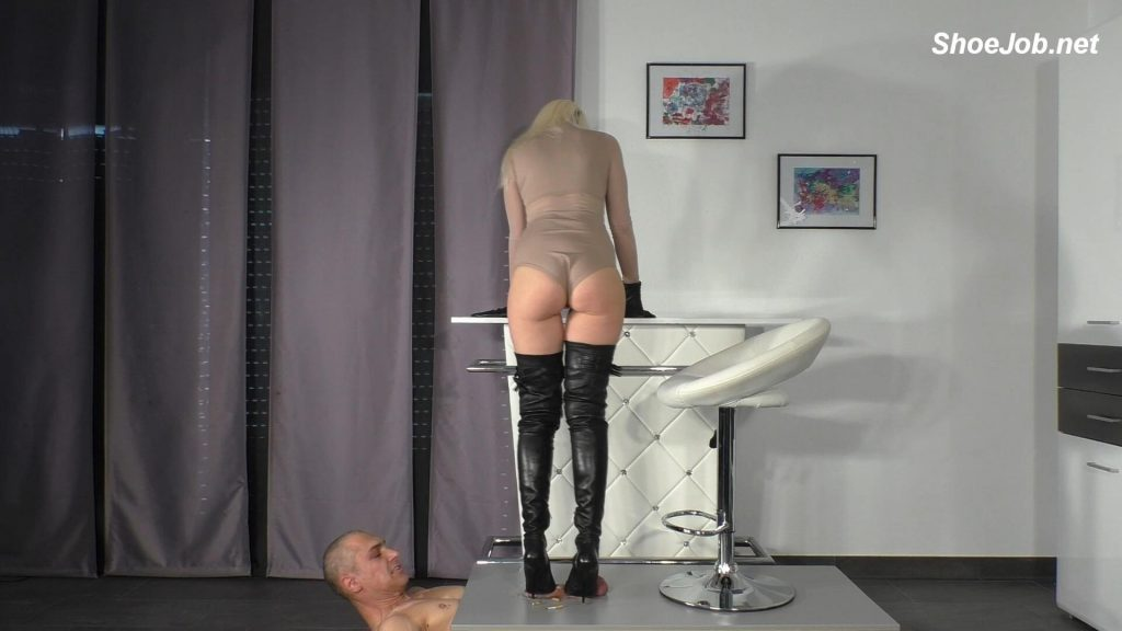 Lady Latisha's Perfect Sadistic Trampling Shoejob – Lady Latisha