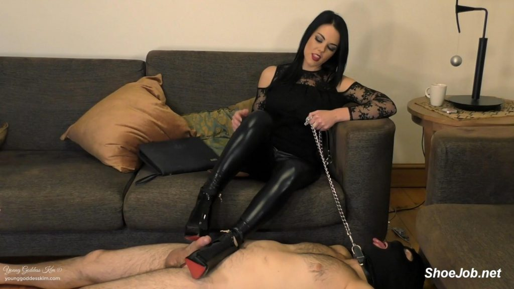 The Boot Job – Young Goddess Kim