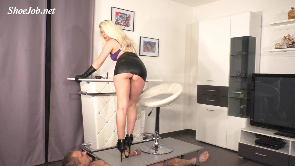 Lady Latisha's Perfect Sadistic Trampling Shoejob – Full View – Clip 4 – High Heels Goddess – Lady Latisha