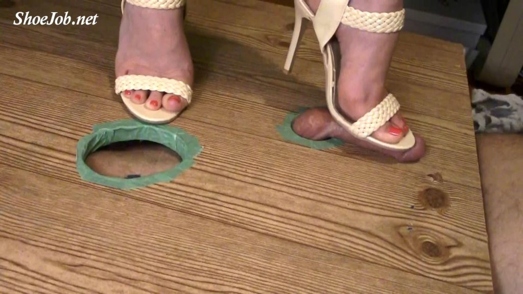 Slave 1 buys me sexy evening sandals i use to torture and milk slave 2 on my way out for a holiday date with a real man…- Jewels foot fantasy gems