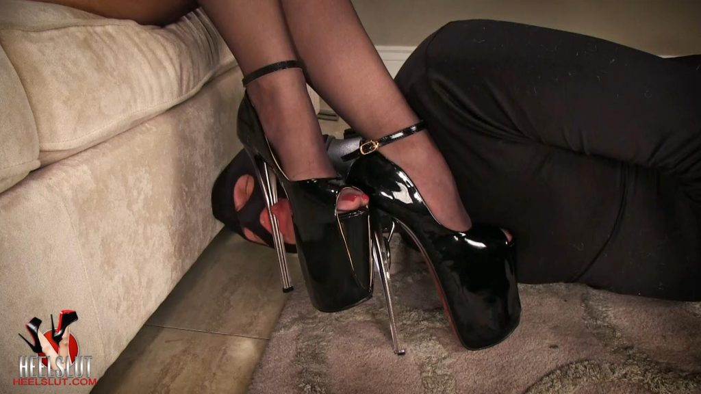 Ultra High Peep Pumps – A Lick Heels Slut Series Video – Heel Slut