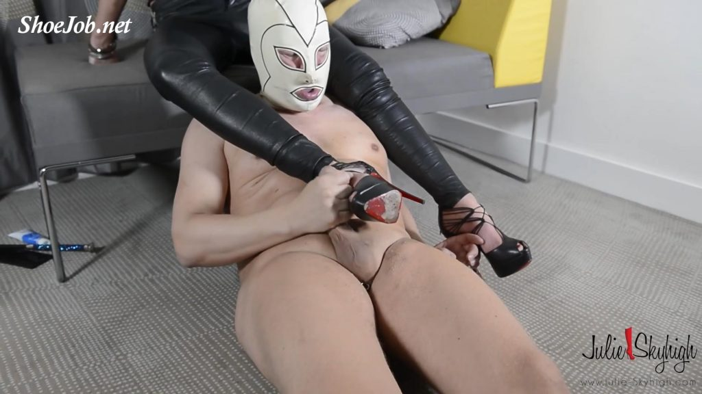 European Deputy Became A Julie's Slave – Part 2: & Assfucking Strap-on – Eat Your Cum! – Julie Skyhigh HD