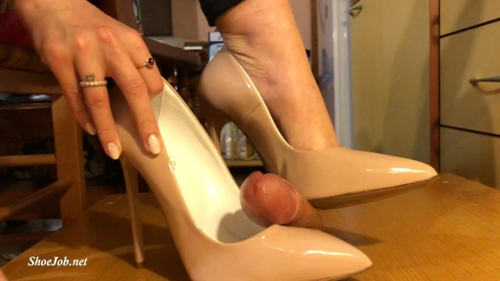 Two Pairs Of Heels Shoejob Footjob – Sinner Fetish Store
