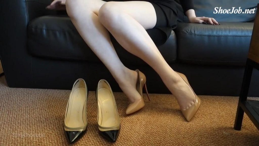 Cum On Mommy's Heels Joi – Shiny Shoejobs