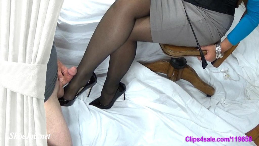 Cum On Mommy's Shoe and Get Forced Again – Forced By Mommy
