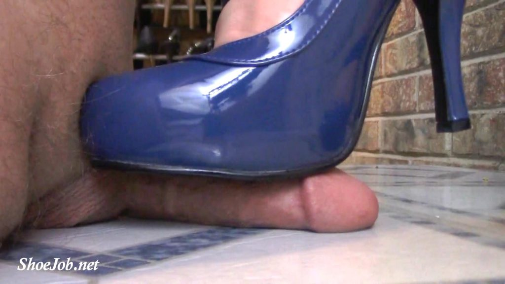 Blue School Girl Mary Janes Crush Cock Right Up Close! – Jewels foot fantasy gems