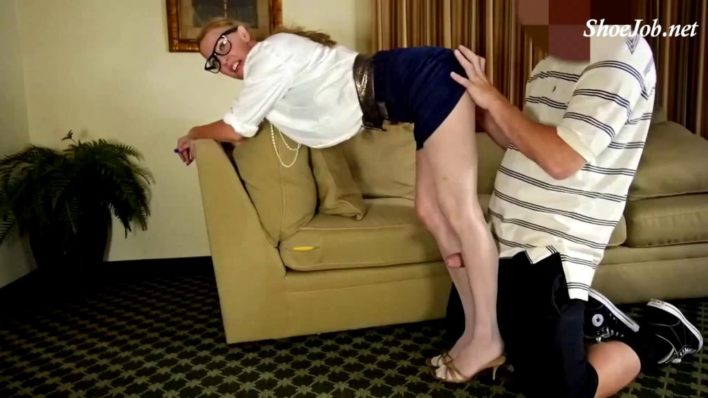 Pantyhose Sales Lady – Perversion Productions