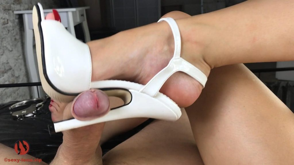 Cock Torment With Killer Heel – Sexy-Lena