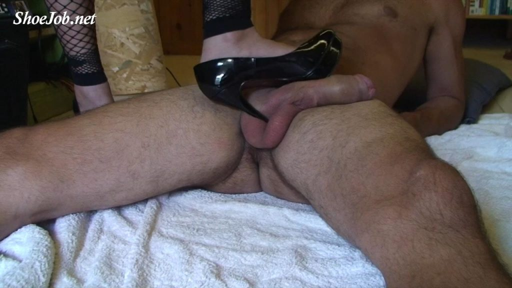 Footjob And Shoejob Teasing – Sinner Fetish Store