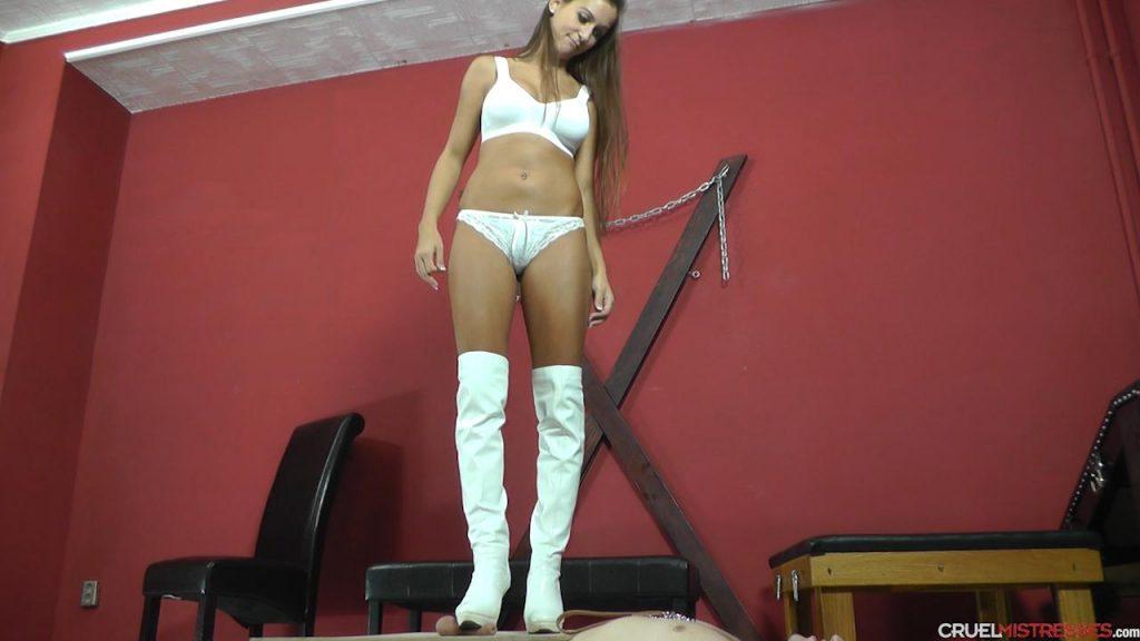 Under her boot's soles Cruel Mistresses