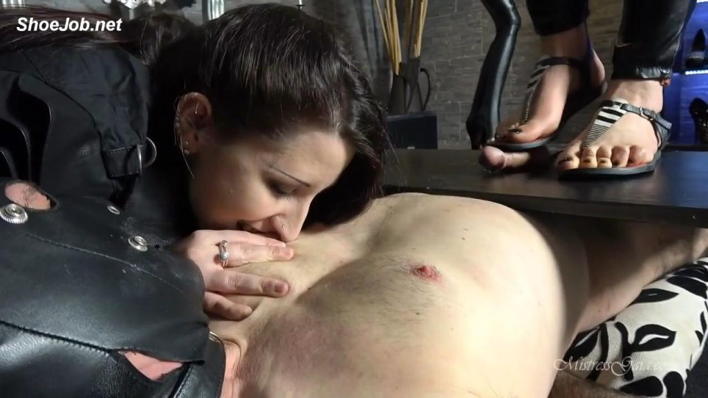 Milking His Cock Raw – Mistress Gaia