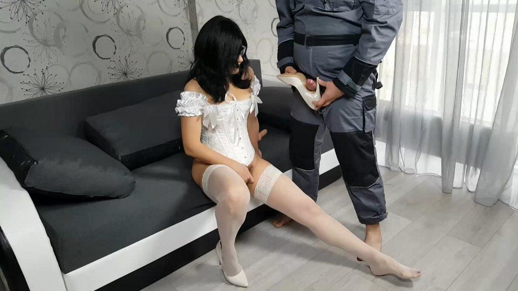 Fucking Mia Shoe & Eating Cum – Strict Wife Mia