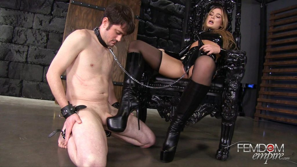 Amazon's Boot Bitch – Vicious Femdom Empire