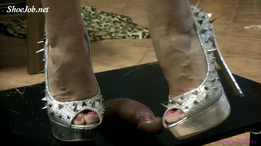 Come Under My Spiked High Heels – Lady Alegria`s Footfetish