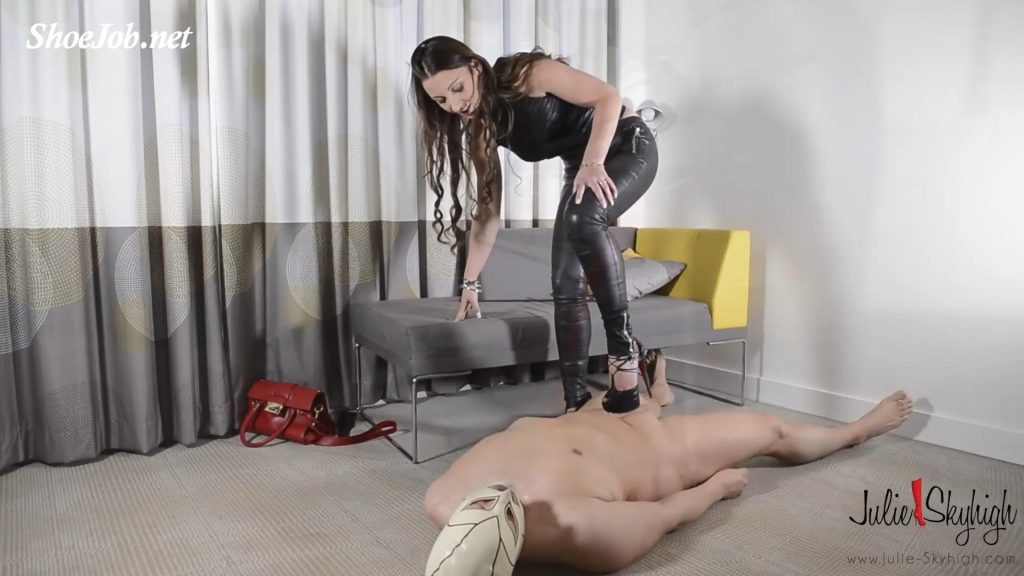 European Deputy Became A Julie's Slave – Part 1: Forced Cumeating & Whipping – Julie Skyhigh HD