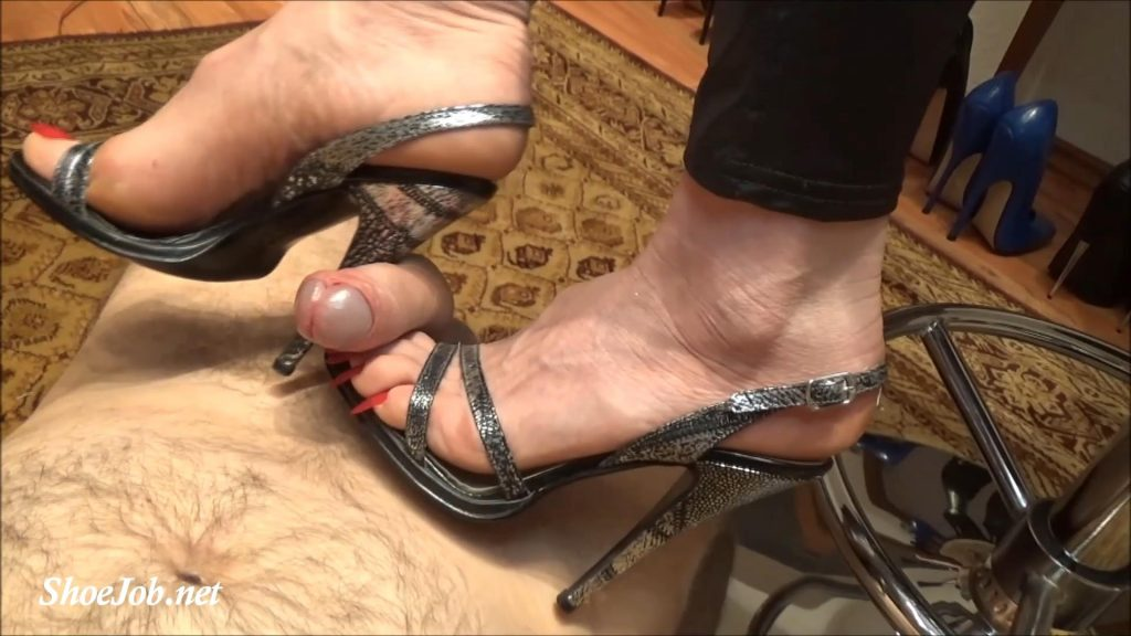 Jerk Off On My High Heels And Long Toe Nails – Fetish Lady Imperatriza