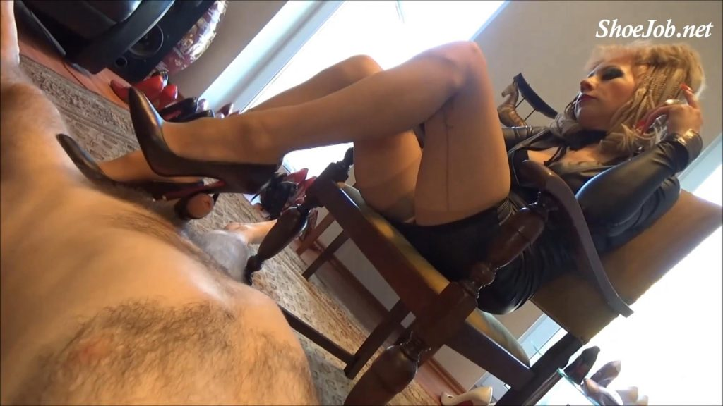 """Dominant Cock Games With My 6 Inch Italian """"Mori"""" Luxury Court Shoes – Fetish Lady Imperatriza"""